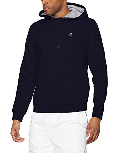 n Sport Sweatshirt, Mehrfarbig (Marine/Argent Chine), Medium (Herstellergröße: 4) (Lacoste Herren Kleidung)