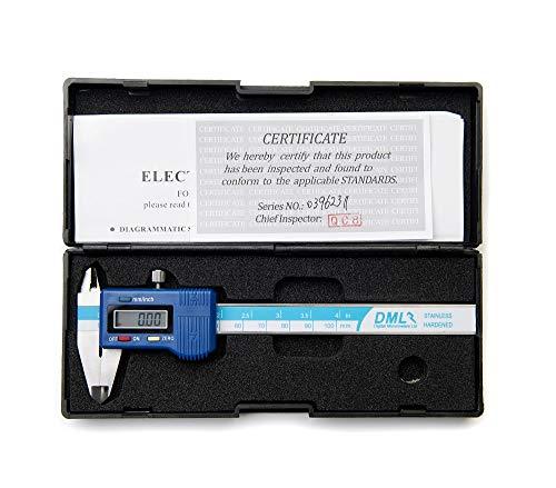10,16 cm 100 mm Calibre Vernier Digital de bolsillo LCD grande 12 meses de garantía