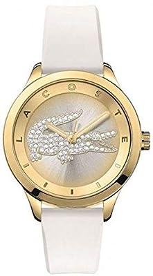 Lacoste Mujer-Reloj analógico de Cuarzo Silicona Victoria Small 2000916 de Lacoste
