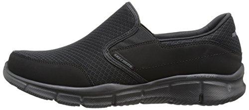 Skechers Sport Men's Equalizer Persistent Slip-On Sneaker, Black, 10 XW US