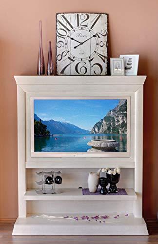 Soma TV Schrank Fernsehschrank TV Wandboard Quadro Pinie massiv (BxHxL) 142 x 167 x 47 cm Pinie lipizano
