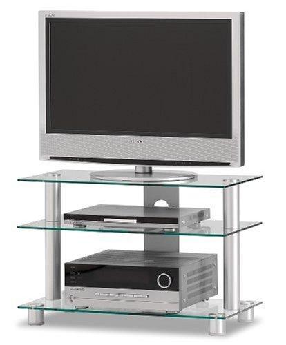 "Just-Rack TV 8553 Aluminium Universalmöbel für Flachbildschirme, TV – und Audio Geräte"""