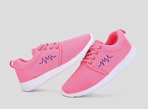 HYLM Scarpe Respirabili Primavali Uomini E Donne Scarpe Corsa Stile Coreano Con Scarpe Sportive Casual XL