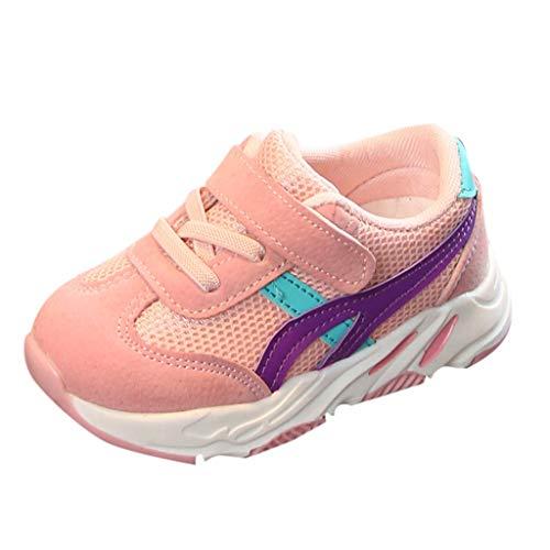Alaso Chaussures Enfants/Sneakers/Baskets pour Garçon Fille Sport Running Shoes Competition Entrainement