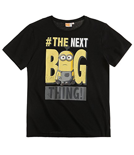 Camiseta para hombre en negro de Los Minions