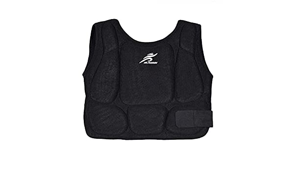Williamly Karate Chest Guard Protector Adult Kids Taekwondo Training Martial Arts Vest Boxing Body Breast Wear Shoulder Protection Waistcoat Armour Pad For Kick Of Ribs Belly Rib Shield Protective