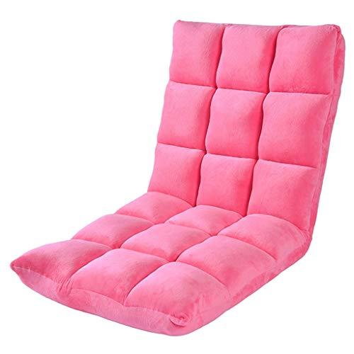 Canapés et divans Canapé Inclinable Canapé Paresseux Multifonctions Divan-lit Gigogne Chaise avec Baie Vitrée pour Balcon Chaise Longue De Loisirs Salon 120KG (Color : Red, Size : 50 * 55 * 55cm)