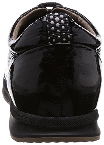 Geox D AVERY B, Sneakers basses femmes Schwarz (BLACKC9999)