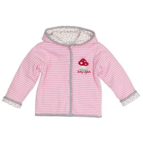 SALT AND PEPPER Baby-Mädchen Jacke BG Jacket Reversible, Rosa (Rose 817), 62