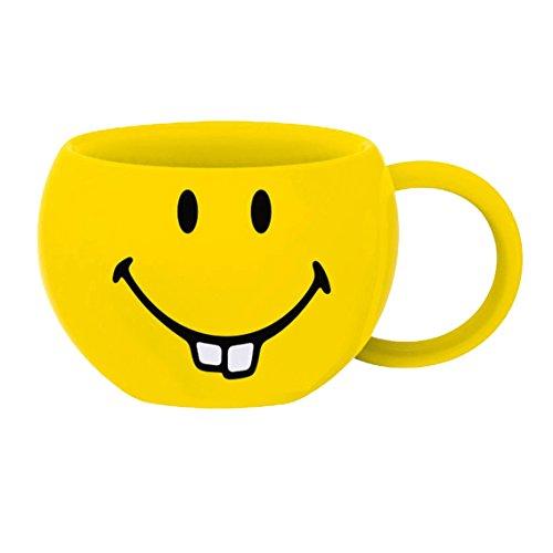Zak Designs 6727-011 mug, céramique, Jaune, 8,5 x 9,5 x 6 cm