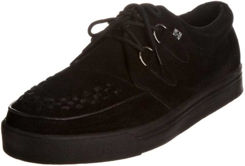 TUK - Zapatillas de Deporte de Cuero Unisex, Negro, 36