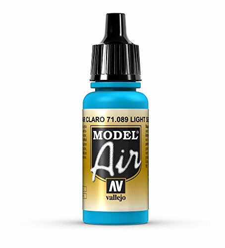 Vallejo Model Air Acrylfarbe, 17 ml Light Sea Blue