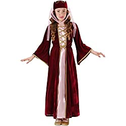 WIDMANN 12576 - Disfraz de dama para niño (talla 128)