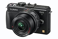 Panasonic Lumix DMC-GX1EG-K ( 16.68 Megapixel (3 Zoll Display) )