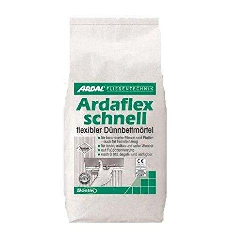 Bostik Ardaflex Turbo Ardal Ardaflex Schnell Flex Fliesenkleber-Dünnbettmörtel 25 kg Sack