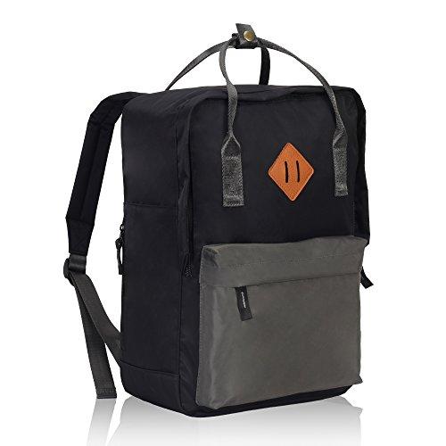Imagen de veevan unisex grandes bolsas de escuela   para laptop para niñas adolescentes chicas gris alternativa