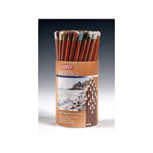 72 The Derwent drawing pencil round tab (japan import)