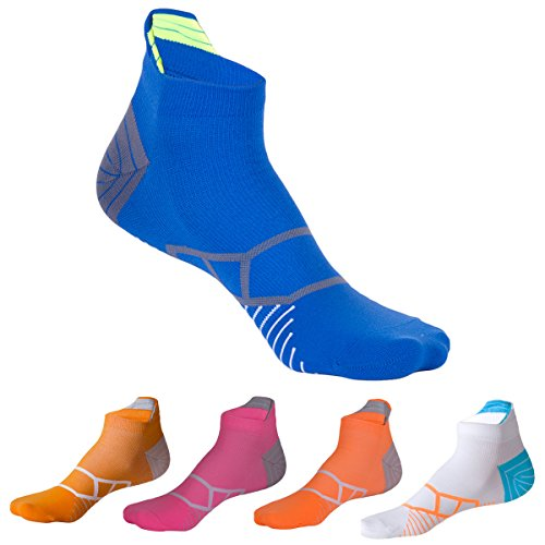Men's Summer No Show Sweat Breathable Socken Hit Color Ankle Socken für Männer (5 Packs) (7-11, 5 pack-color2) (11 Low-knöchel-socken)