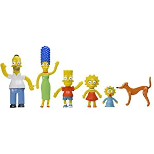 NJ Croce Simpsons Family Bendable Action Figure Box Set by NJ Croce 2