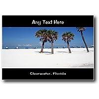 Clearwater, Florida personalizzato Jumbo magnete