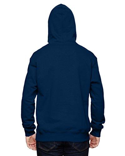 Champion 9.7 OZ, 90/10 Cotton Max Pullover Hood Bleu - SP DNAVY/ATH HTR