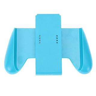 Amazingdeal365 Rubber Comfort Grip Handle Bracket Support Holder Charger for Nintendo Switch (Blue)