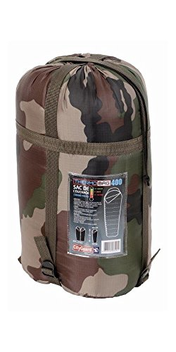 SAC DE COUCHAGE TEMPERE THERMO BAG 400 CAMPING NATURE OUTDOOR MILITAIRE CAMOUFLAGE