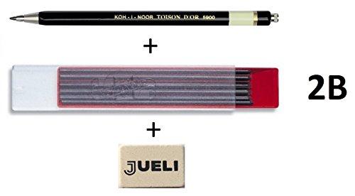 c75877e57 Koh-I-Noor 5900 2 mm diametro Mechanical clutch lead Holder pencil- nero
