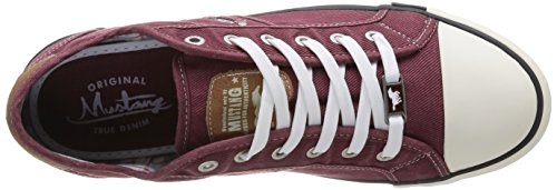 Mustang 4058305, Herren High-Top Sneaker Rot (55 bordeaux)