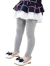 Kasen Niña Leggings Imprimiendo Pantalones Elástica Ocio Múltiples Colores