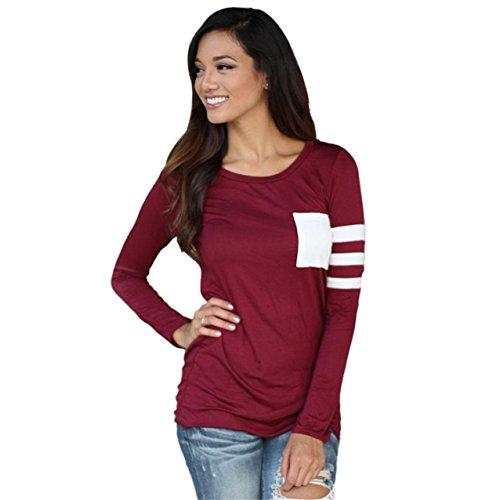 lhwy-donne-manica-lunga-girocollo-splice-camicia-camicetta-top-t-camicia-s-rosso