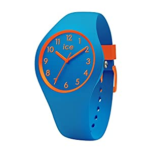 Ice-Watch – Ice Ola kids Robot – Blaue Jungenuhr mit Silikonarmband – 014428 (Small)