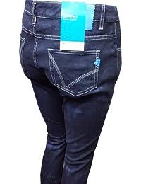 Adidas pantalon de jean pour femme coupe easy five l34 bleu tailles