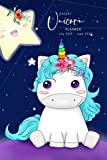 Pocket Unicorn Planner July 2019- June 2020: School Student Daily Planner; Small...