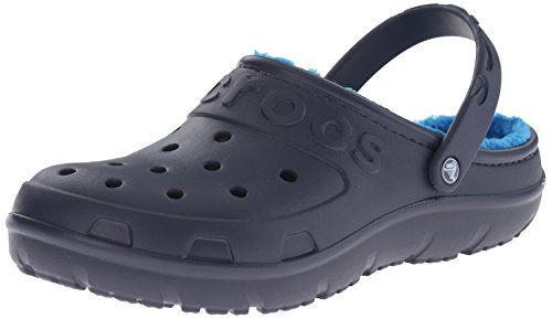 Crocs Hilo Lined Clo, Chaussures Mixte Adulte Bleu (Navy/Ocean)