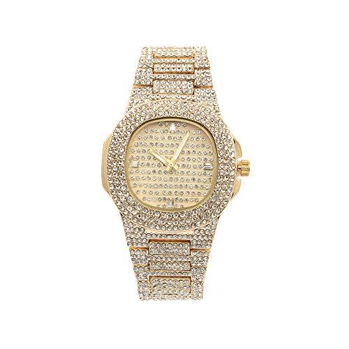 Damen-Uhrengehäuse, Zifferblatt und Armband ST10266 Gold