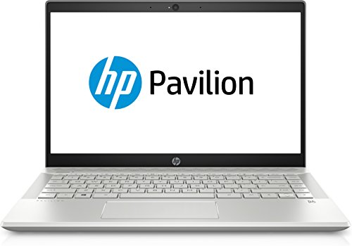 HP Pavilion 14-ce0001ng 35,56 cm (14 Zoll Full HD IPS) Notebook (Intel Core i5-8250U, 8GB RAM, 1TB HDD, 128GB SSD, Nvidia GeForce MX150 2GB, Windows 10 Home 64) silber