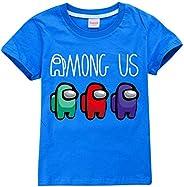 Camiseta para niños con personajes de impostor de juego para niños y niñas