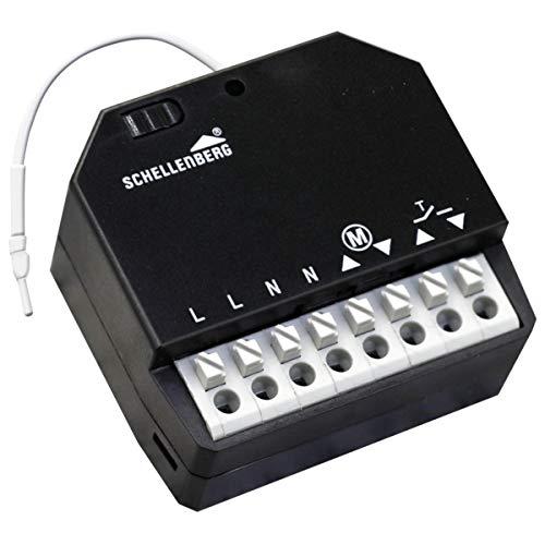 Schellenberg 20017 Smart Home Funk-Empfangsmodul Nachrüsten auf Funk, macht Ihre Antriebe Smart Home fähig