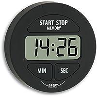 TFA 38.2022.01 - Avisador digital de cocina de 1 tiempo, color negro