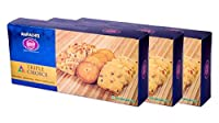 Karachi Bakery Triple Delight, Triple Choice, Cashew,Osmania and Fruit Biscuits, 600g (Pack of 3)