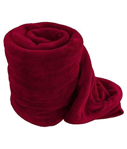 RS Quality Double Polar Fleece Plain Blanket
