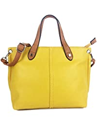 01f2a93046 Mia Handbags for Women Beautiful Italian Fashion Styled Medium Size Shoulder  Bag Grab Bag in faux Semi Suede Nu Buck or NEWLY…
