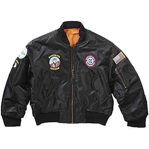 Per bambini e ragazzi MA1 Bomber giacca con Badge - Army Aviator Badge