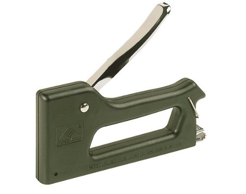 Wolfcraft 6999000 Agrafeuse manuelle Tacocraft P4 avec boîtier en plastique pour agrafes 6+8mm Type 053