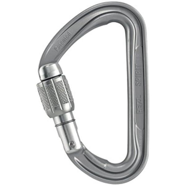 Petzl moschettone Spirit Screw-Lock: Amazon.es: Deportes y ...