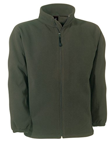 BCFU749 Fleece WindProtek / Unisex Fleecejacke Olive