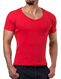 Young and Rich - Tee shirt homme fashion Tee shirt 874 rouge - Rouge