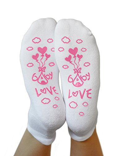 Kindred Bravely Labor and Delivery Inspirational Fun Non Skid Push Socks for Maternity