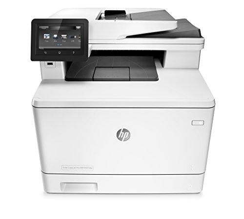 HP Color LaserJet Pro M377dw Farblaser Multifunktionsdrucker (Drucker, Scanner, Kopierer, WLAN, LAN, Duplex, HP ePrint, Airprint, USB, 600 x 600 dpi) weiß